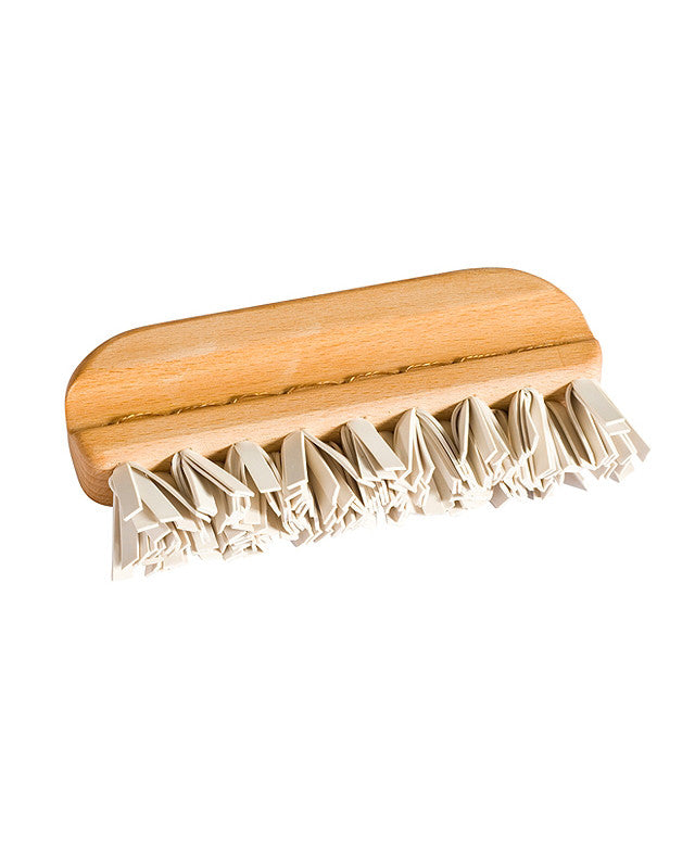 Lint Brush with Rubber Bristles - Redecker