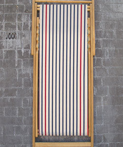 Deck Chair Marin in Ecru Marine