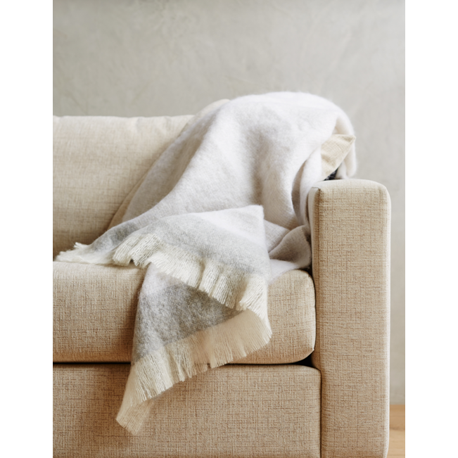 Mohair Mineral St Albans Throw