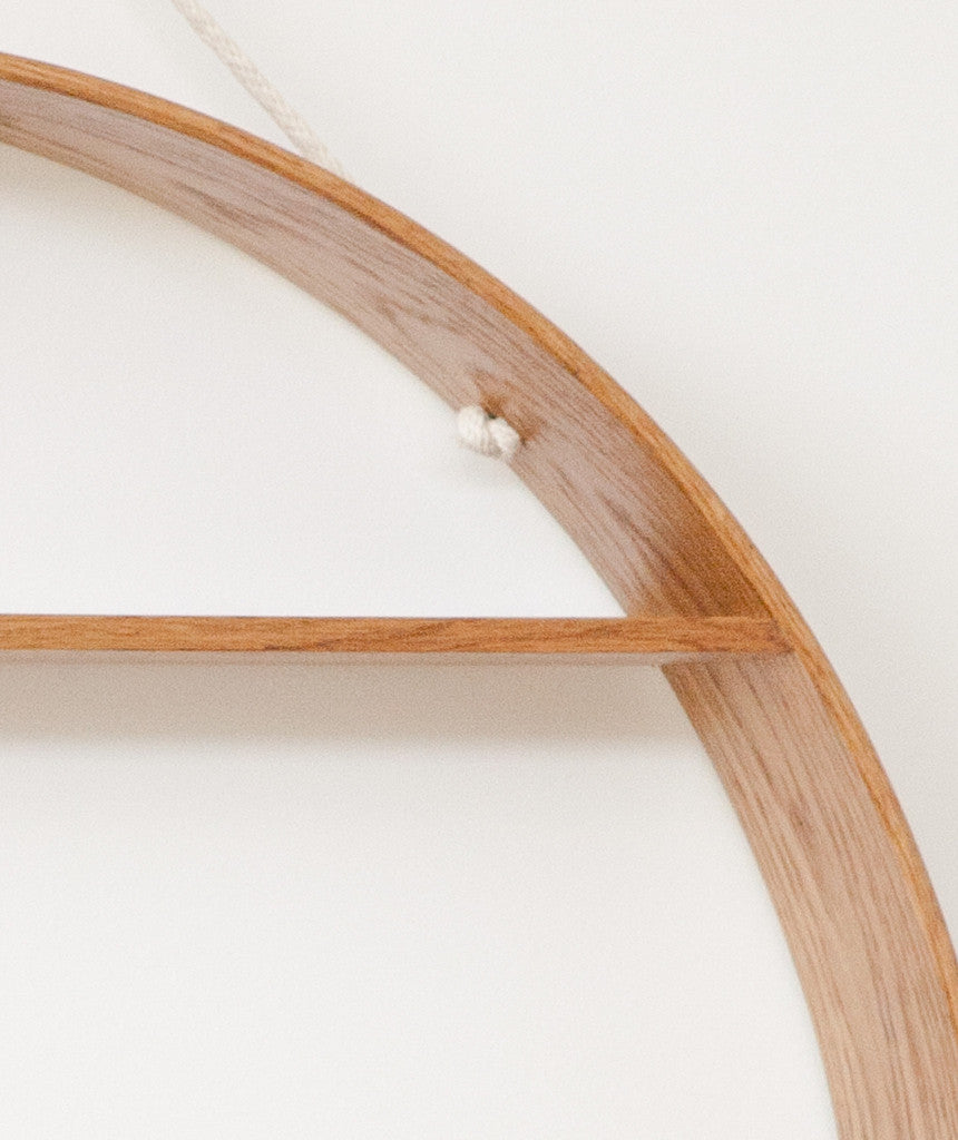 Large Circle Shelf