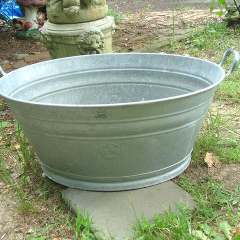 Vintage French Wash Tub