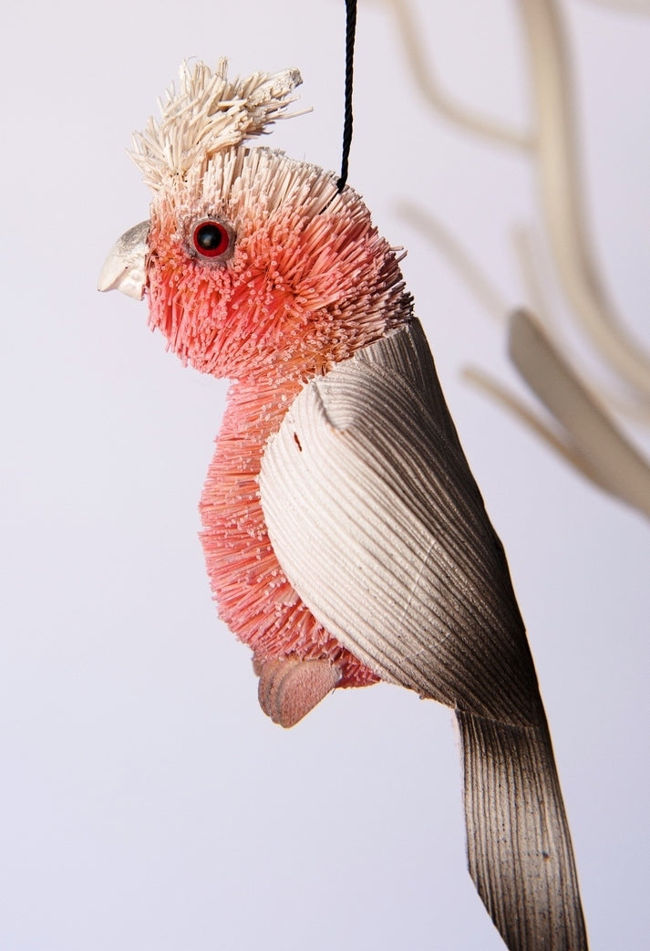 Brush Galah Hanging Decoration