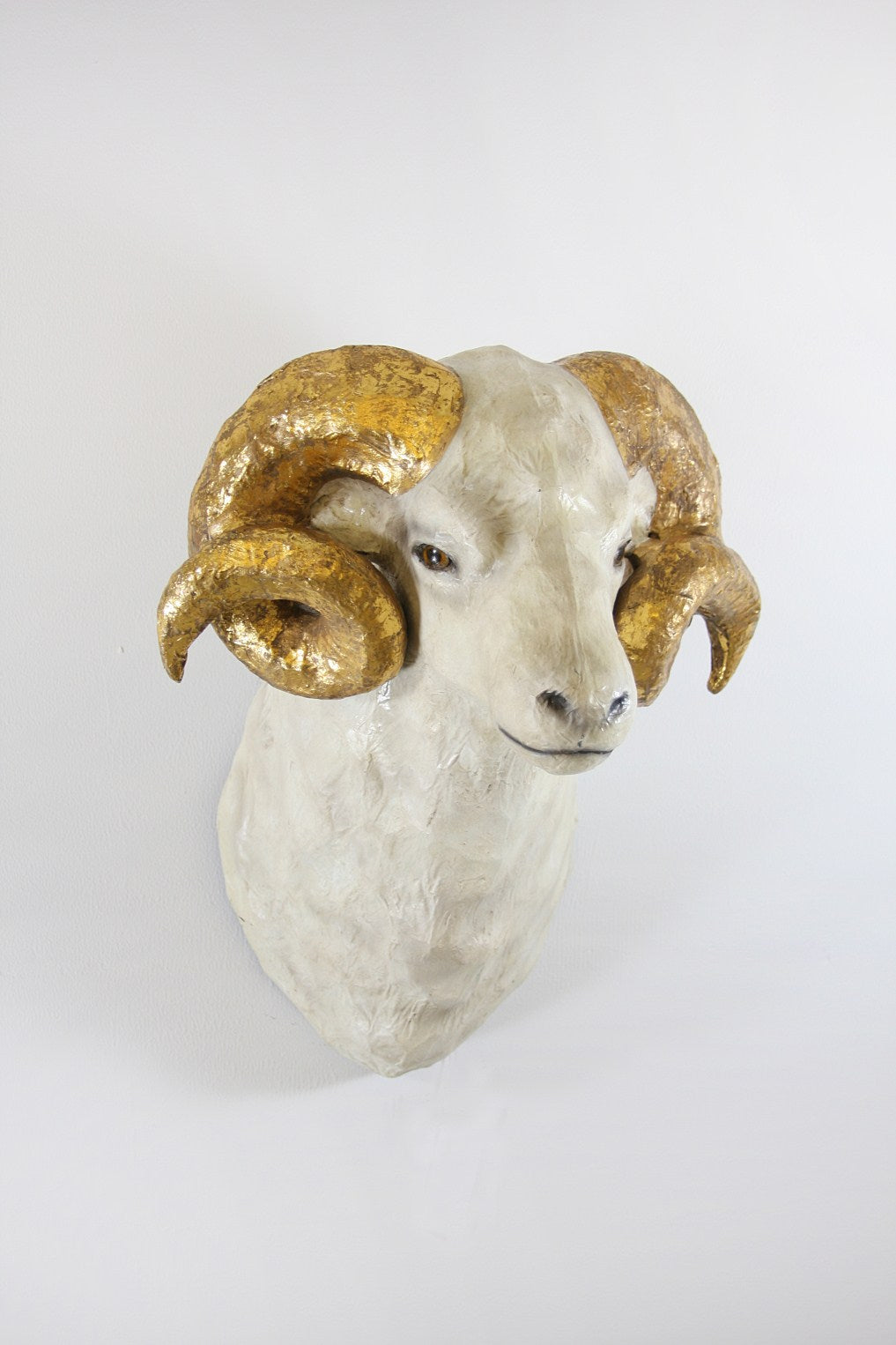 RAM WITH GOLD HORNS