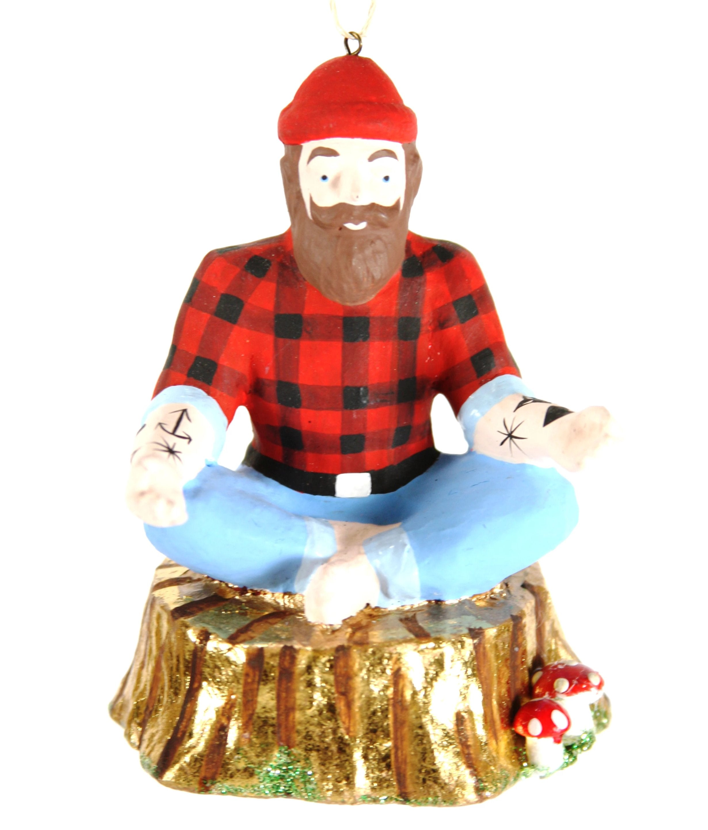 Tradie Yoga Flow Ornament