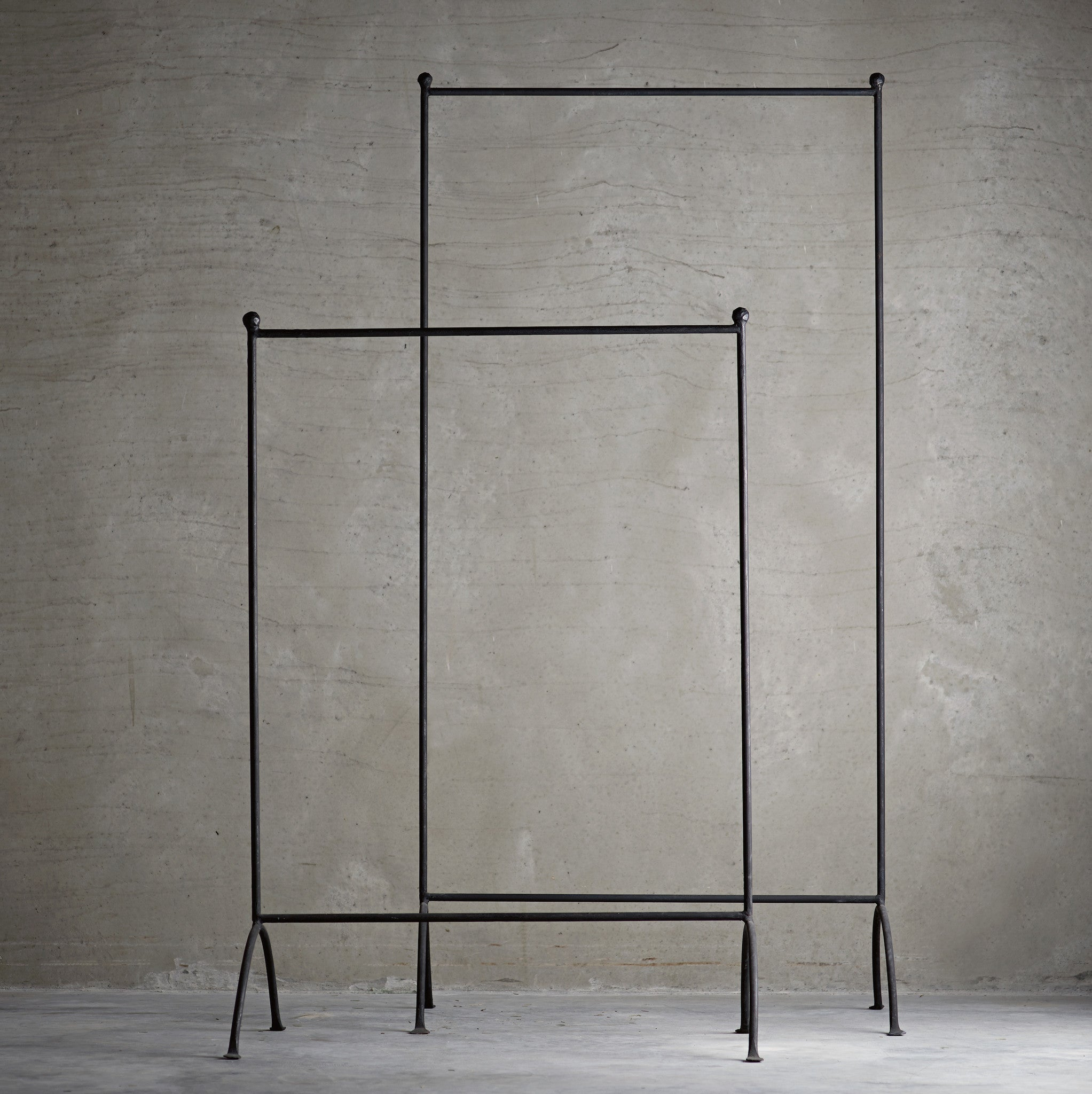 Iron Clothes Rack or Coat Stand in Large