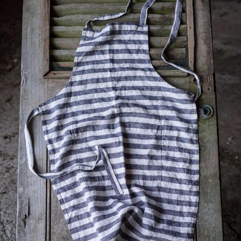 Merchant and Mills Washed Linen Apron