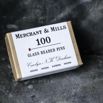 Merchant and Mills Glass Headed Pins