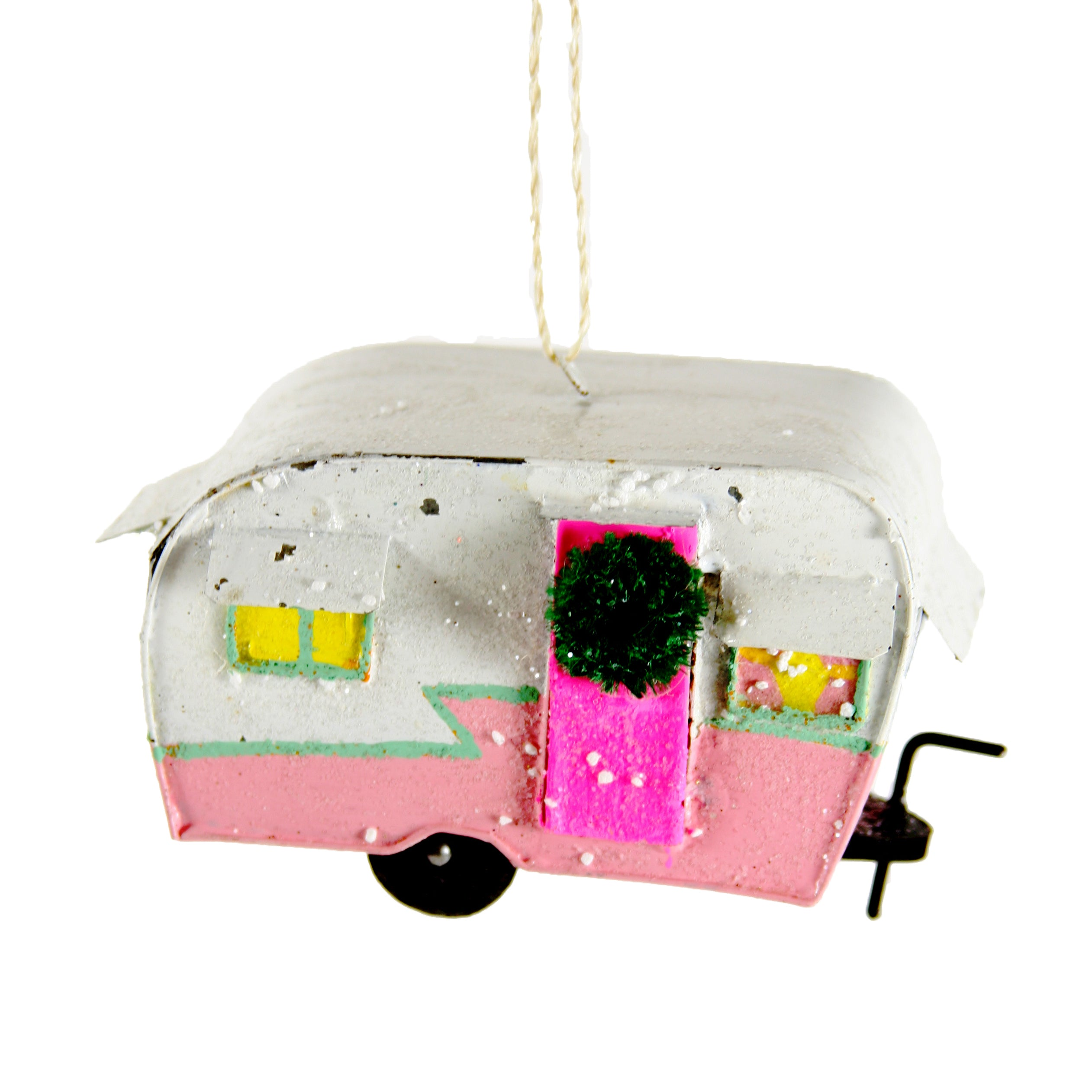 Retro Caravan Ornament