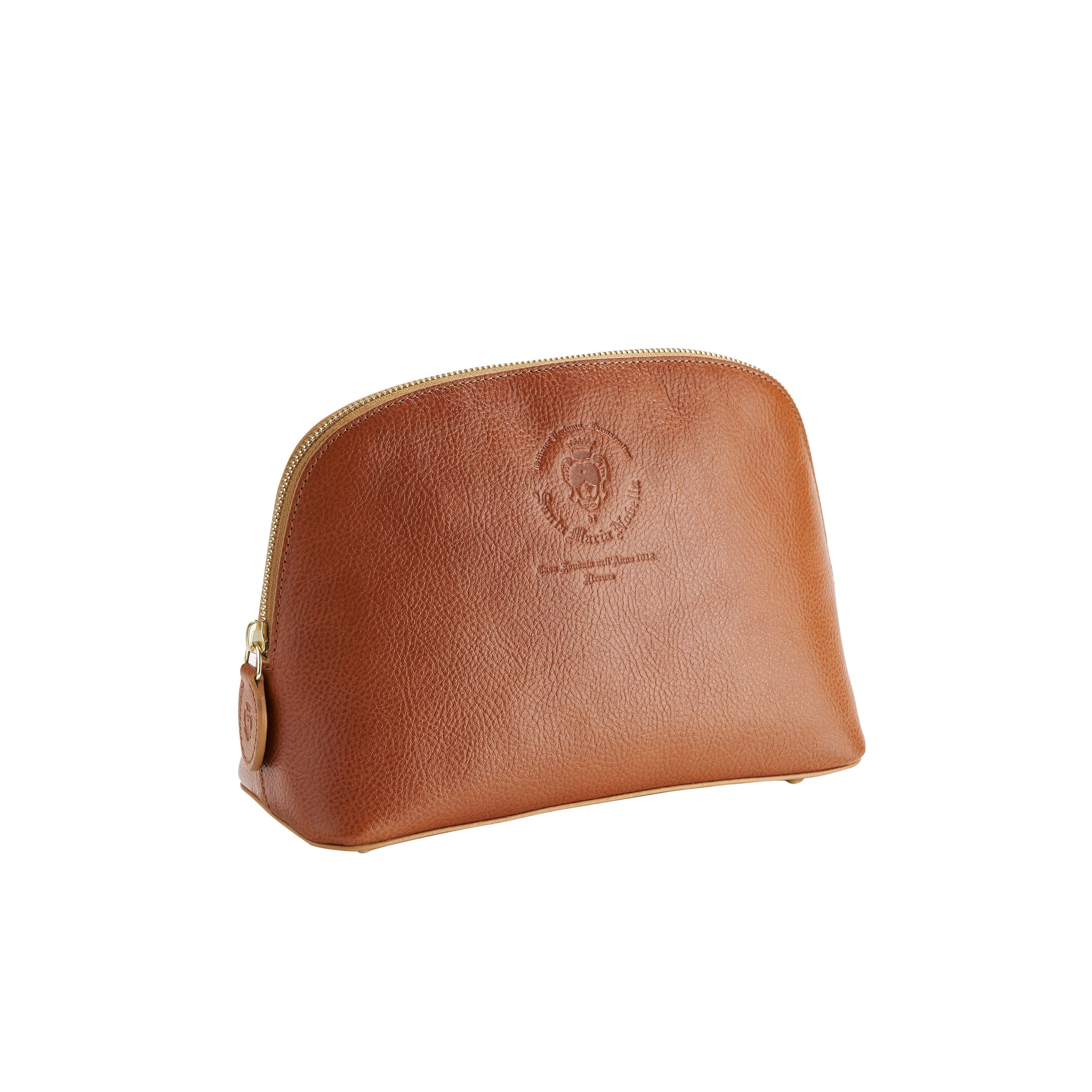 Santa Maria Novella Leather Cosmetic Pouch
