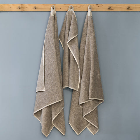 Pure Linen Terry Bath Towel