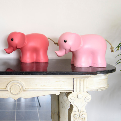 Elephant Night Light in Vintage Pink - Heico