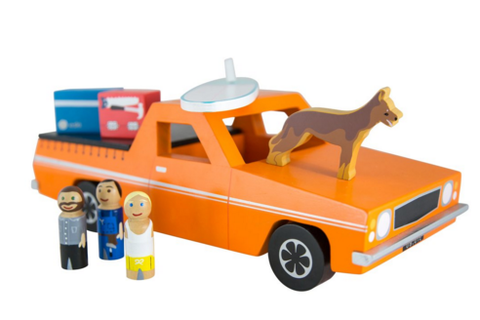 Wooden Toy Ute