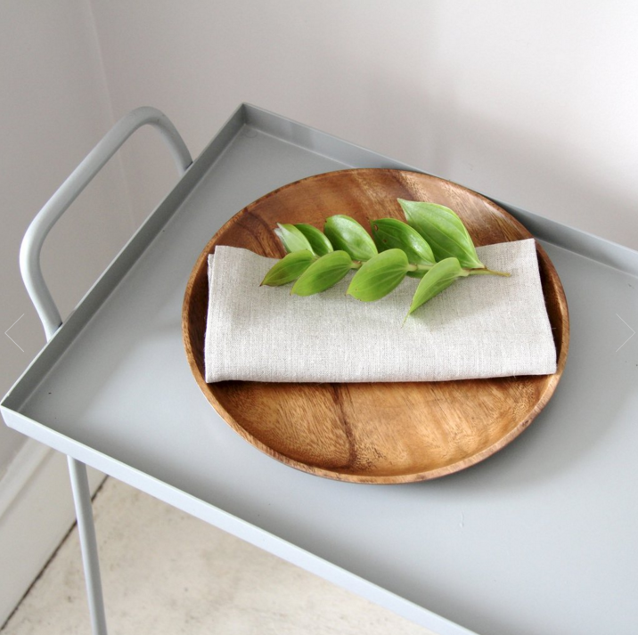 Mango Wood Plate Tray by Fog Linen Work Japan