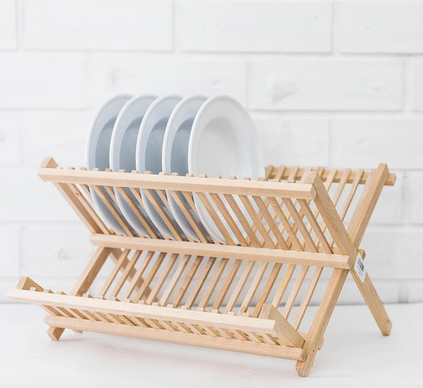 Beechwood Dish Drying Rack