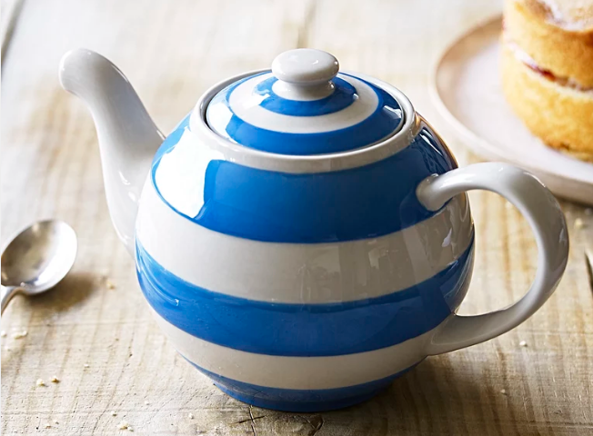 Cornishware Blue Large Betty Teapot