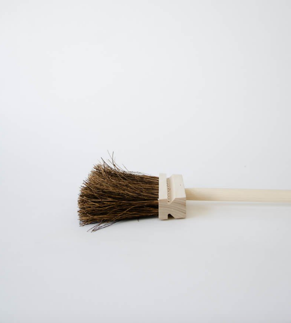 Birchwood Fireplace Broom by Iris Hantverk Sweden