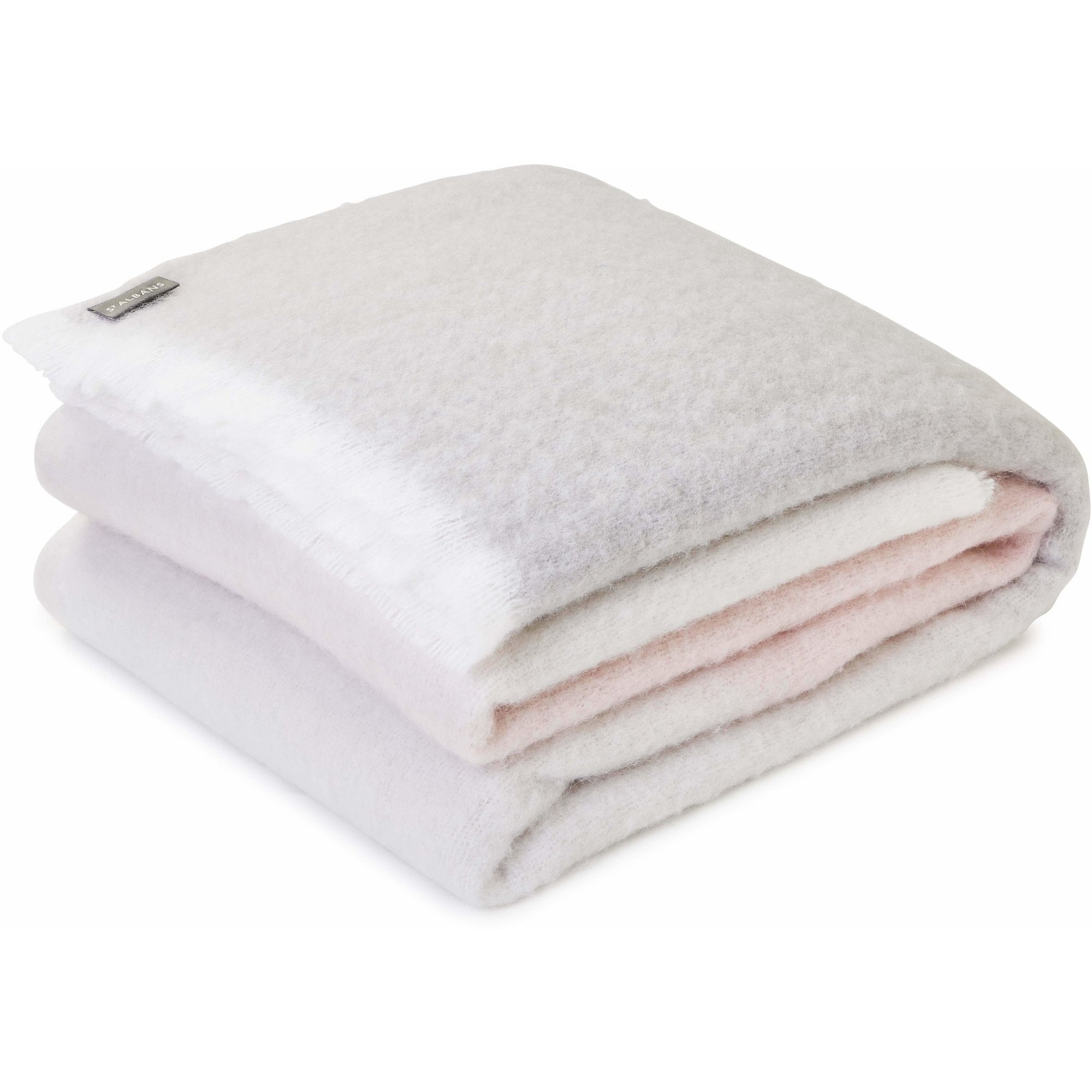 Alpaca Pinkstone St Albans Throw Blanket