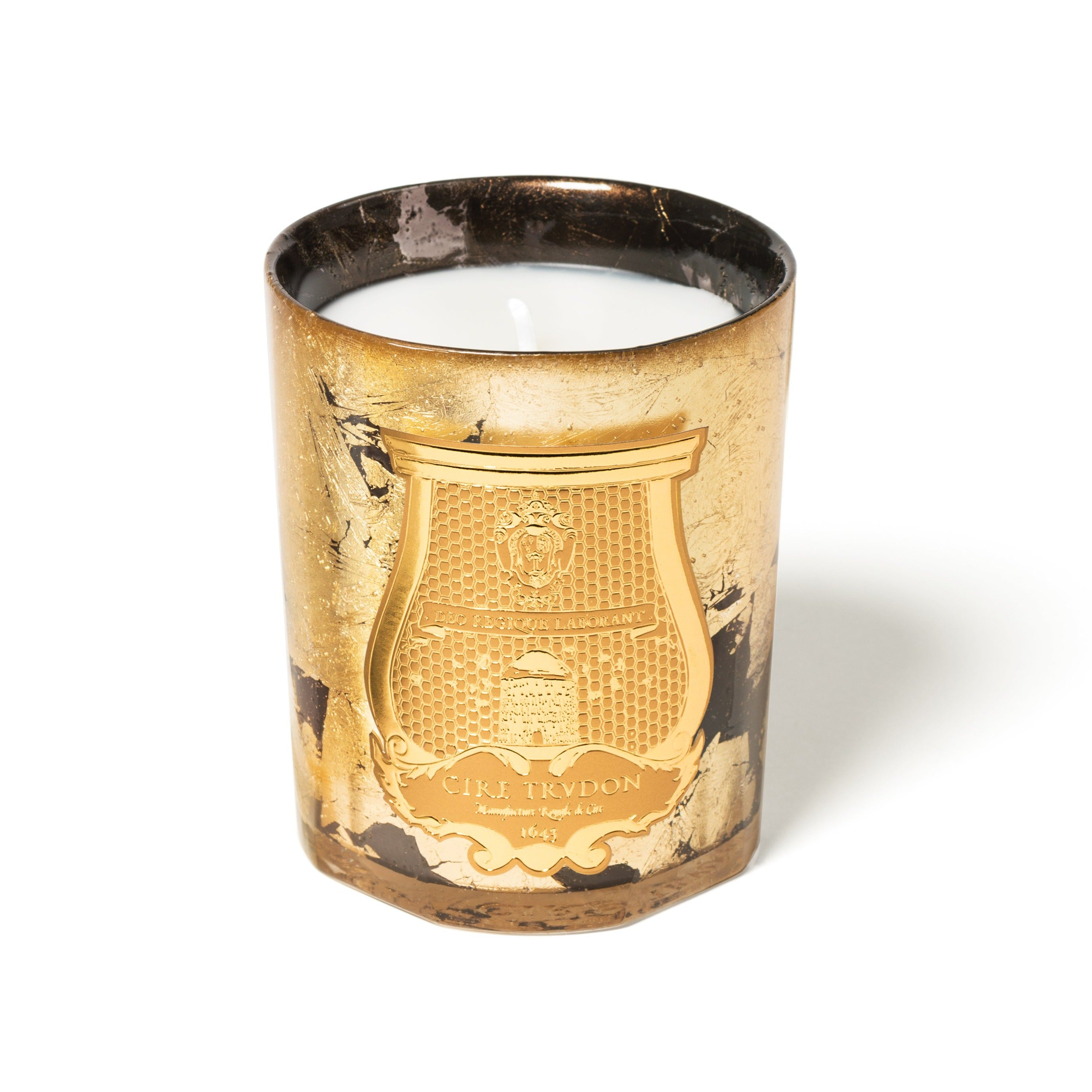 Ernesto Gold Leaf/Anthracite Christmas 2020 Intermezzo Candle (800gs) by Cire Trudon