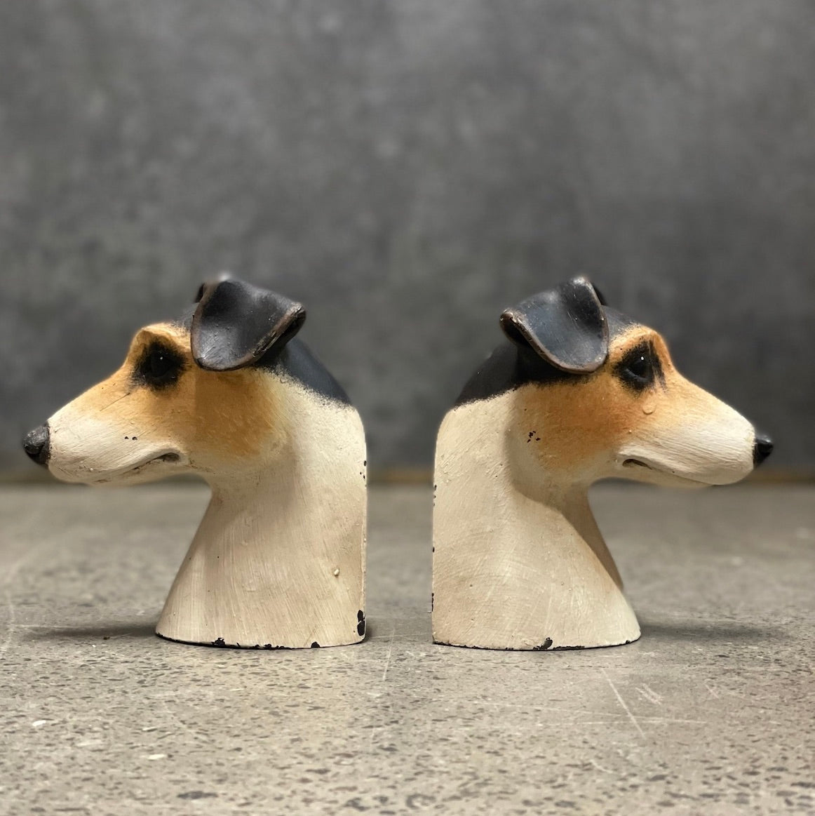 Jack Russell/ Fox Terrier Bookends