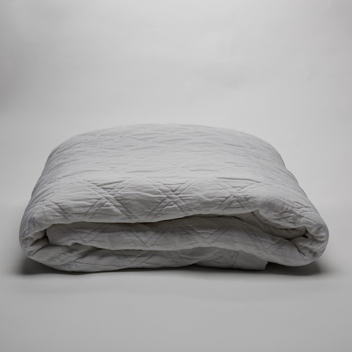 Portier Cotton EUROPEAN PILLOWCASE Pure White