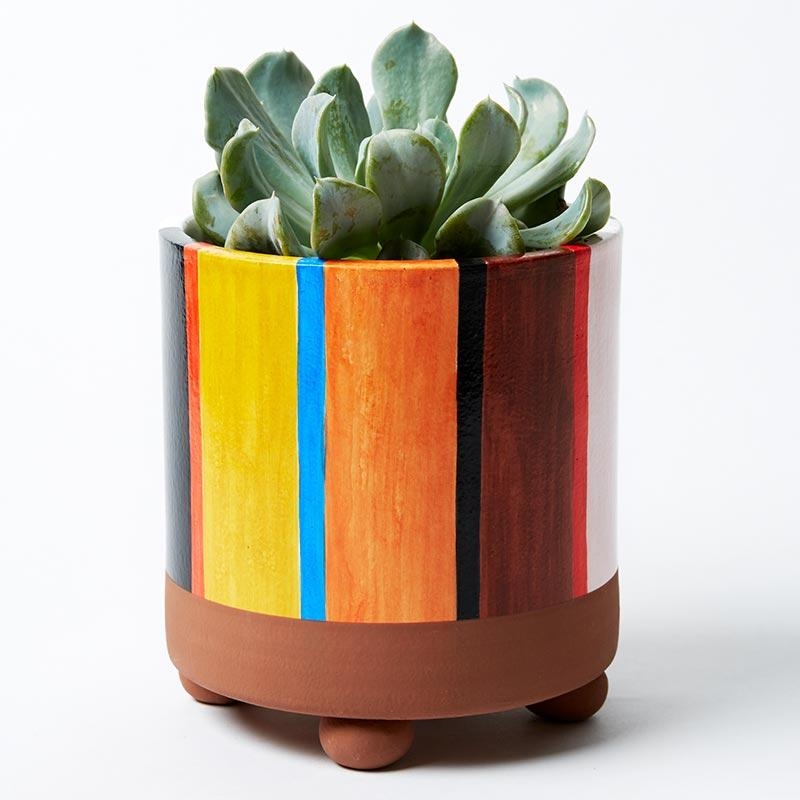 Woodstock Planter in Orange