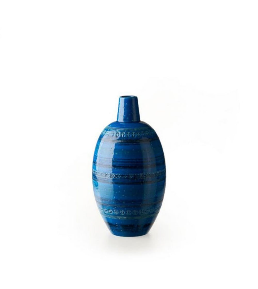 Bitossi Italy Ceramic Vase with Narrow neck