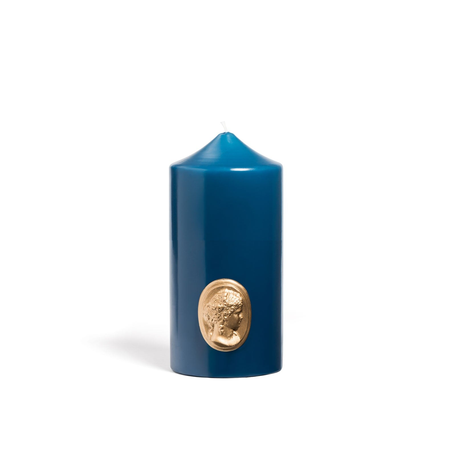 Cire Trudon Pillar Candle Cornflower Blue