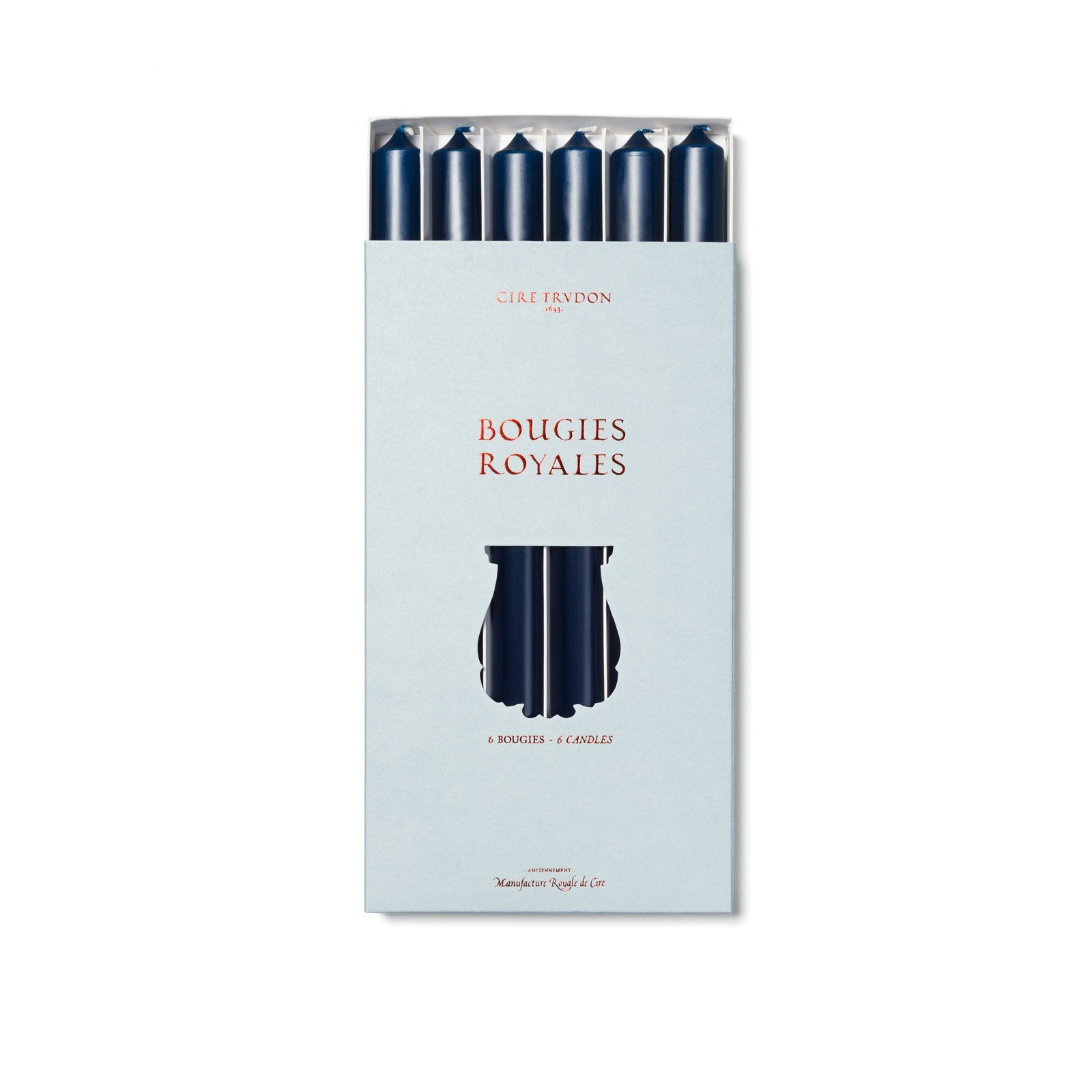 Cire Trudon - BOUGIES ROYALES - NAVY BLUE