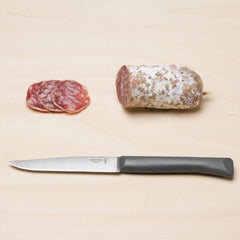 Opinel Bon Appetit Table Knife - Charcoal