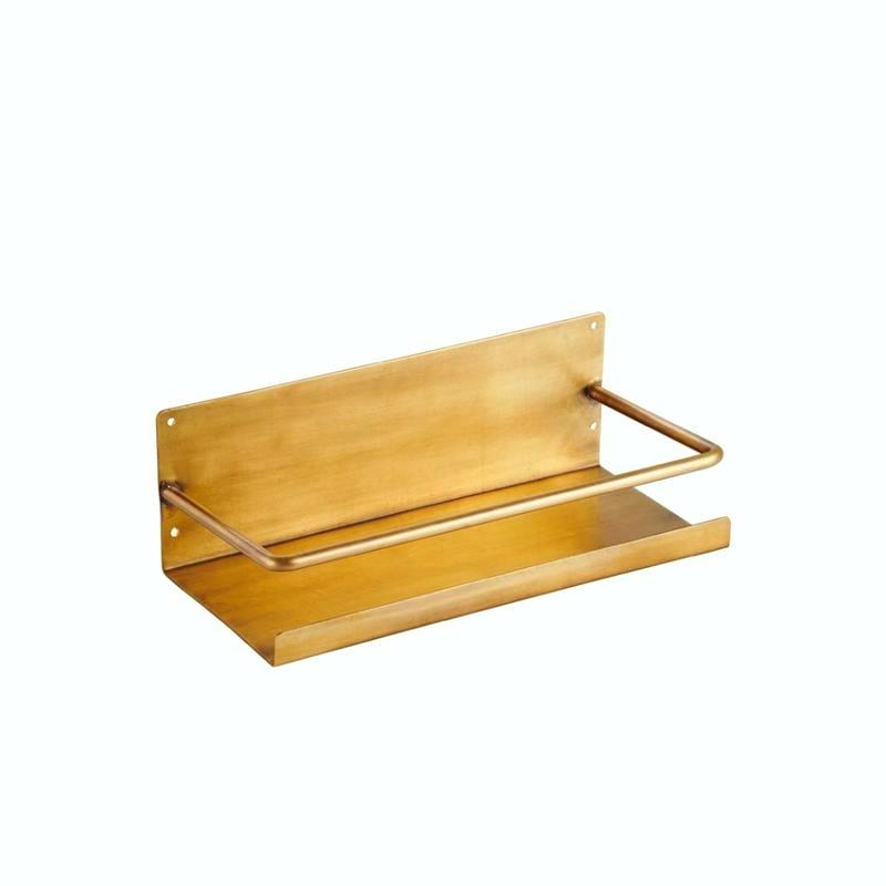 Brass Shelf with Bar by Fog Linen Work Japan