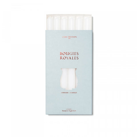 Cire Trudon - BOUGIES ROYALES - WHITE