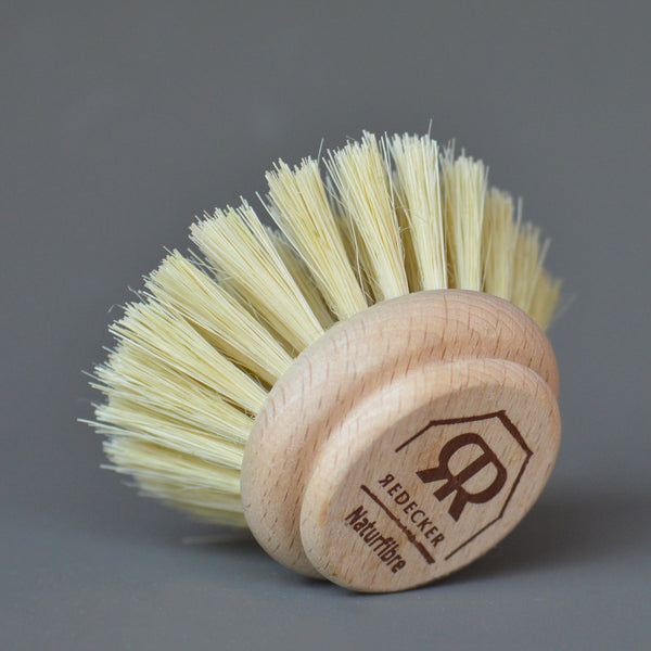 Dishwashing Brush Natural Head Replacement by Redecker