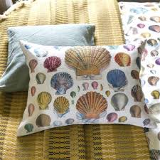John Derian Captain Thomas Brown's Shell Sepia Cushion for Designers Guild