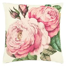 John Derian The Rose Tuberose Cushion for Designers Guild