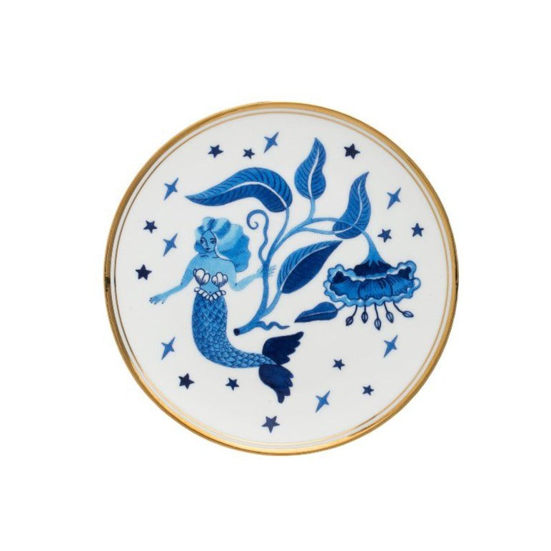 Blue Siren 15cm Plate by Bitossi Home