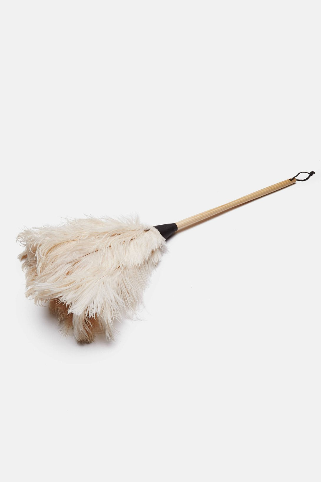 White Ostrich Feather Duster 35cm