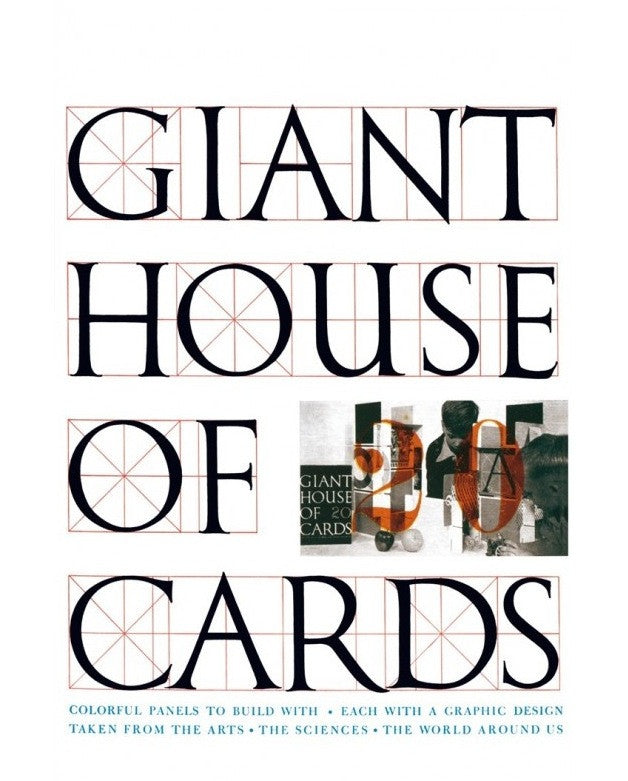 Eames House of Cards - Giant