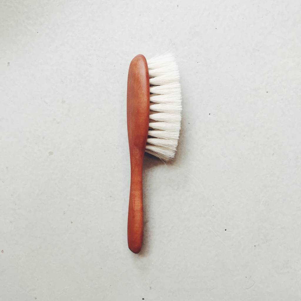 Pearwood Baby Brush by Redecker
