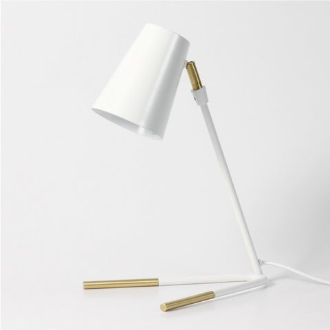 Victor Table Lamp - White