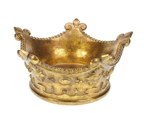 Golden Crown Ornament