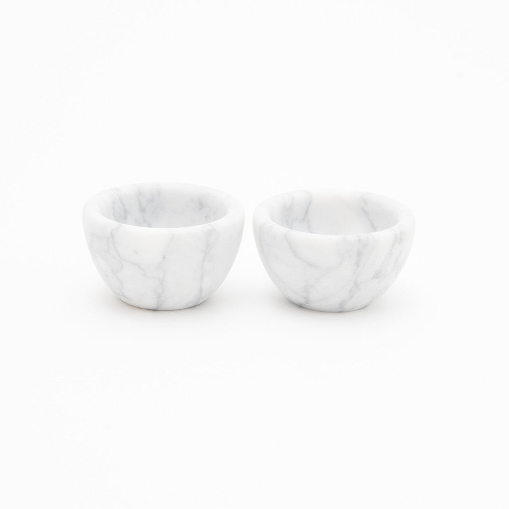 Marble Basic Salt and Pepper Vessels