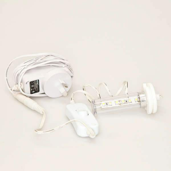 Bone China Night Lamp - Complete LED Replacement Kit