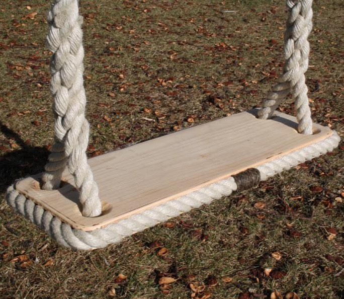 Cedar Rope Swing - made in Historic Chatham Boatyard