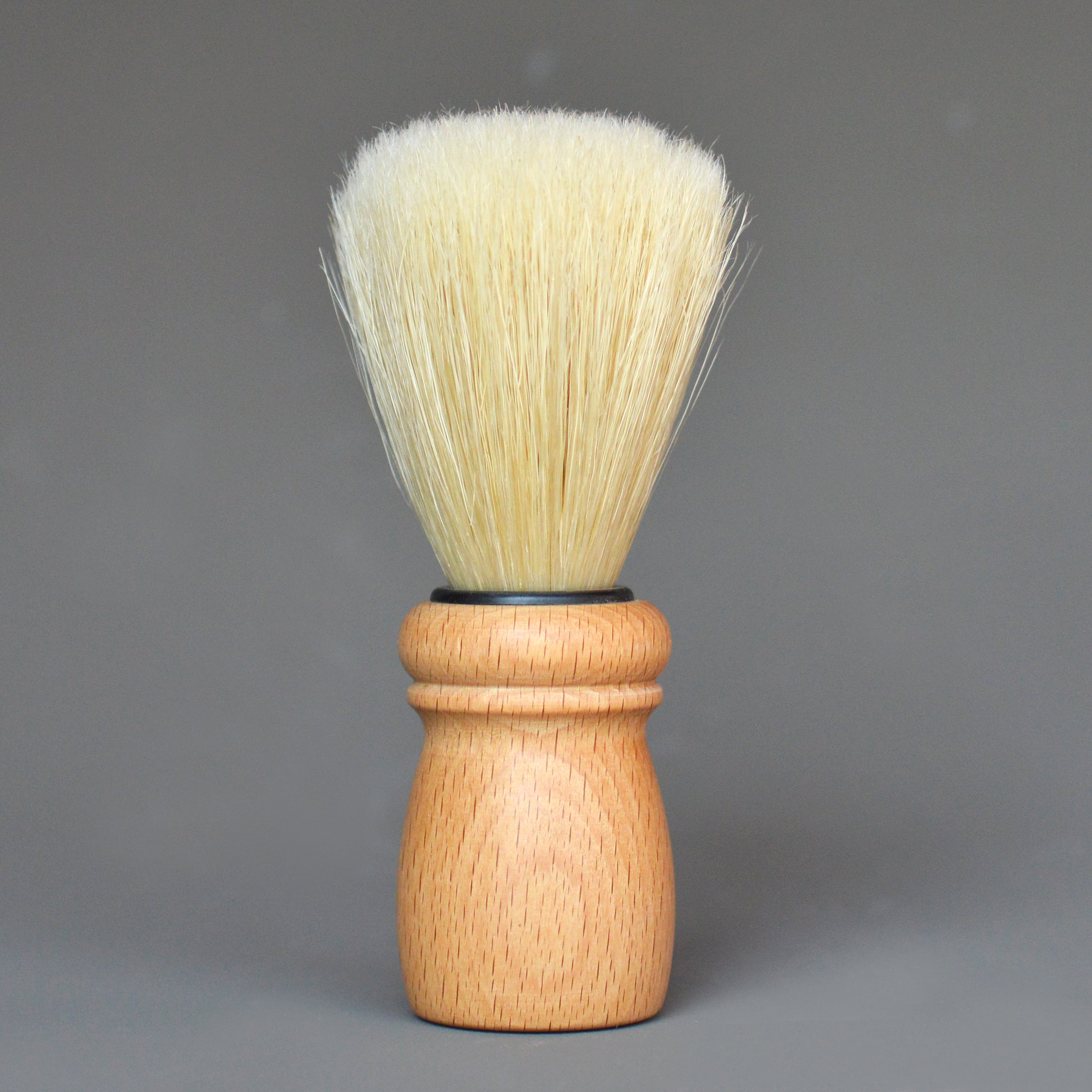 Beechwood Shaving Brush by Redecker