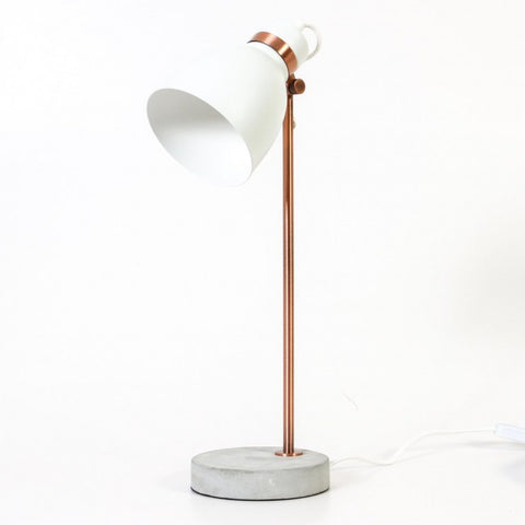 Louis Table Lamp - White