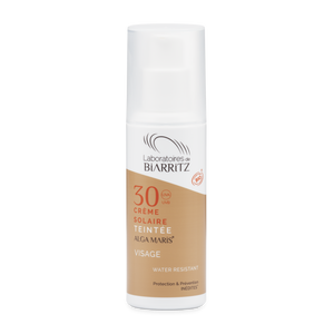 Alga Maris SPF30 Tinted Face Sunscreen - Certified Organic