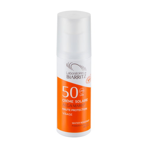 Alga Maris SPF50 Face Sunscreen - Certified Organic