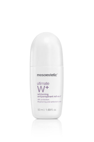 mesoestetic ultimate W+ whitening antiperspirant roll-on