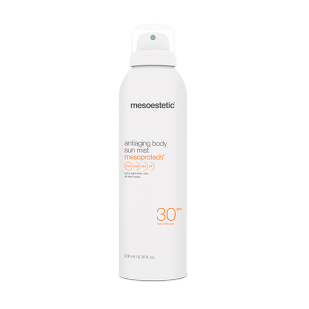 mesoestetic mesoprotech antiaging body sun mist