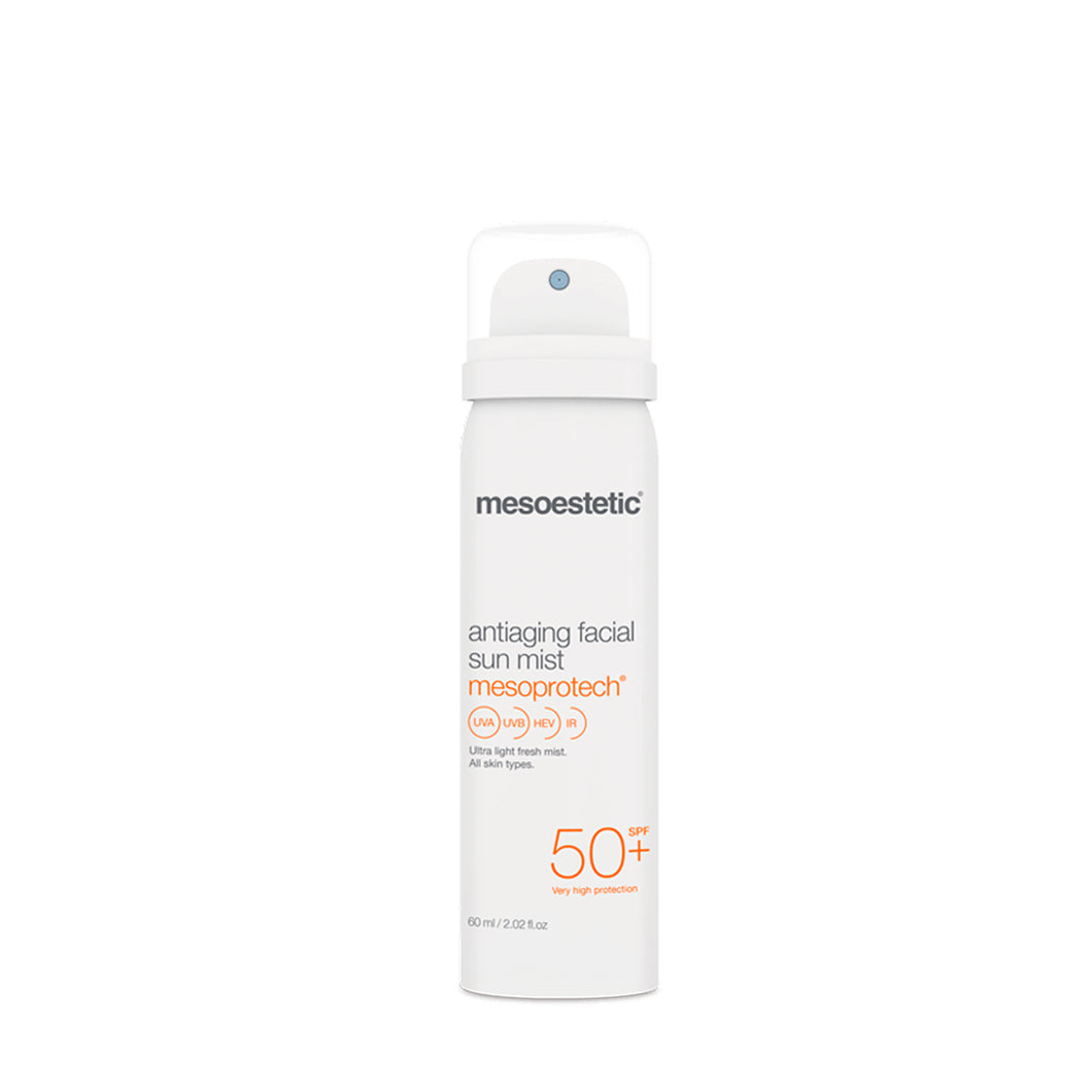 mesoestetic mesoprotech antiaging facial sun mist